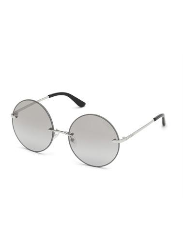 Guess  Gu 7643 10C Kadın Güneş Gözlüğü Gümüş